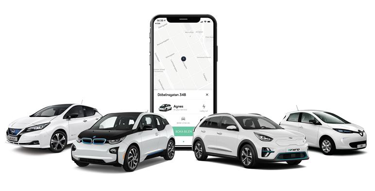 Mobility46 lanserar Elbilio – framtidens bildelningstjänst
