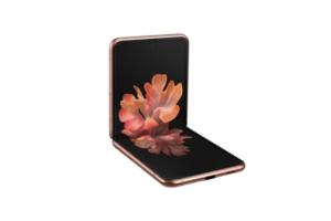 Med vikbara smartphonen Galaxy Z Flip 5G kombinerar Samsung innovativ design med snabbheten hos 5G 3