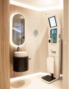 Liljeholmstorget Galleria stärker kundupplevelsen med nytt, smart toalettkoncept 3