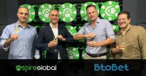 Aspire Global's Btobet tecknar plattforms- och sportboksavtal med William Hill i Colombia 2