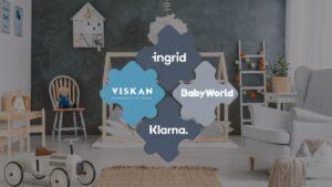 Babyworld live med Ingrid och Klarna Shipping Assistant på Viskan E-handelsplattform