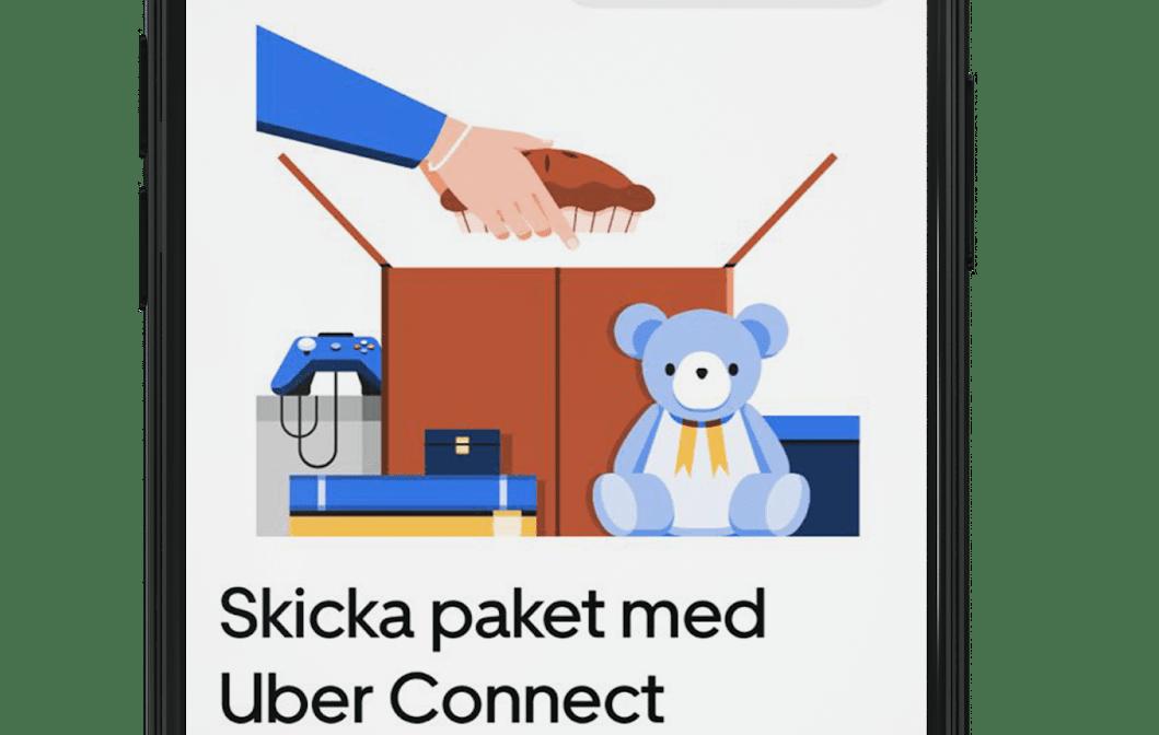 Få en morsdagsgåva levererad direkt till mammas dörr med nyligen lanserade Uber Connect