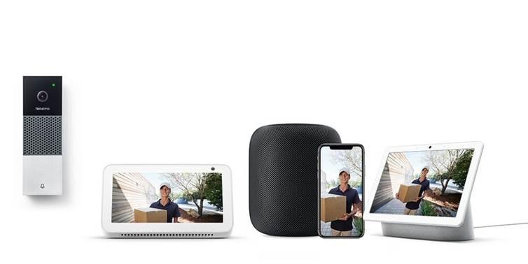 Netatmo Smarta Videodörrklocka nu kompatibel med marknadens främsta röstassistenter: Google Assistant, Amazon Alexa och Apples Siri