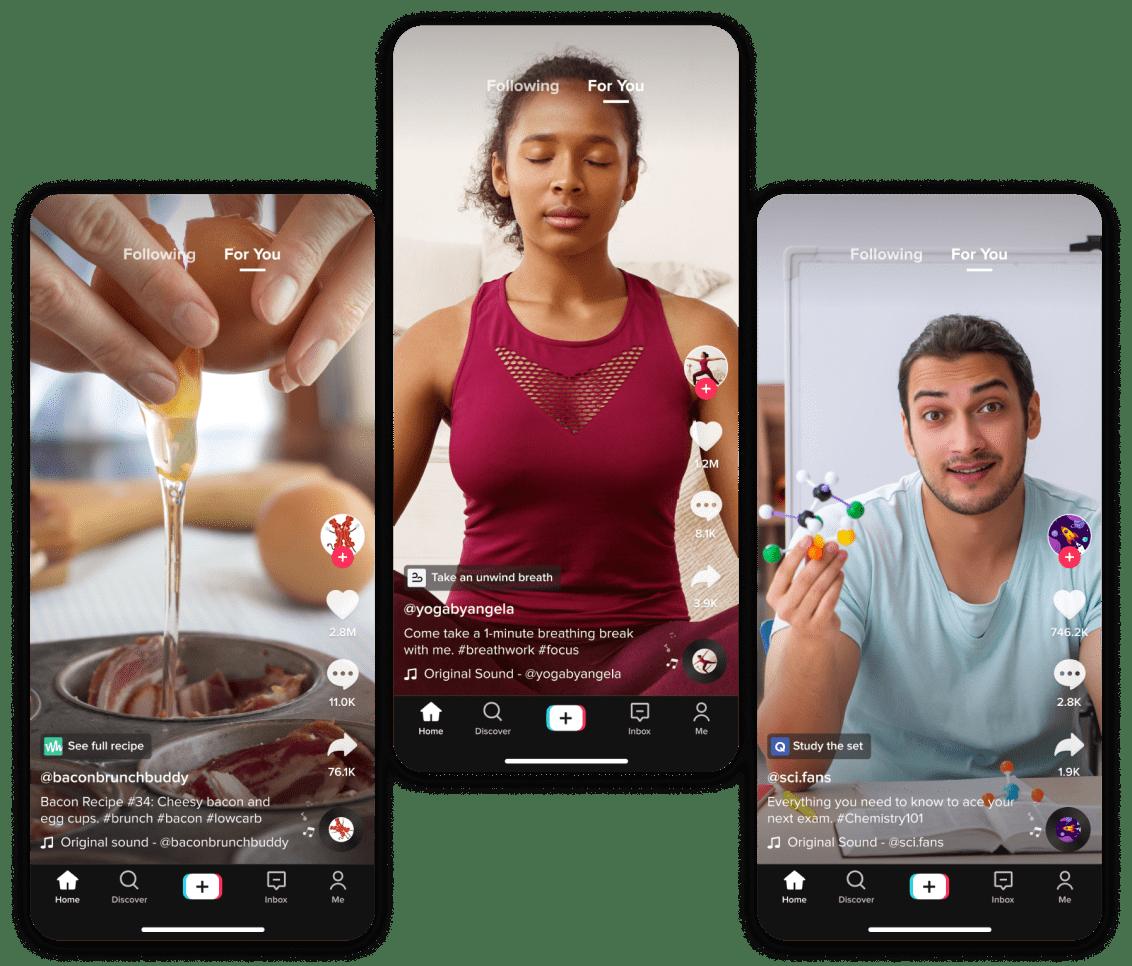 Ny TikTok-integrering ska hjälpa användare att dela informativt innehåll