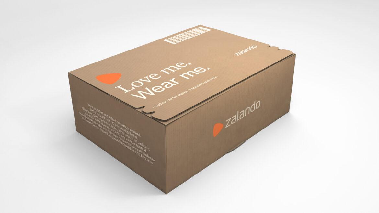 Zalando box left