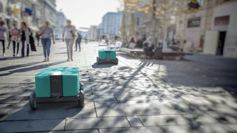 Ska robotar fixa framtidens leveranser?