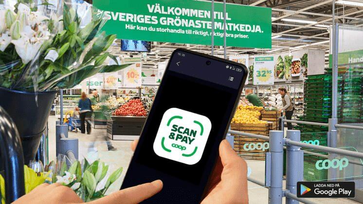 Handla i butik direkt med mobilen