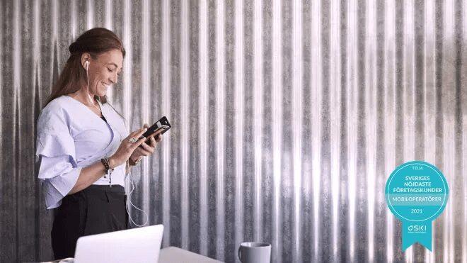 Telia och Halebop har nöjdast mobilkunder i år igen enligt SKI